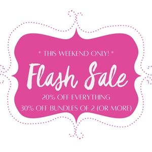 ⚡ Flash Sale Friday ⚡ 20% OFF EVERYTHING!